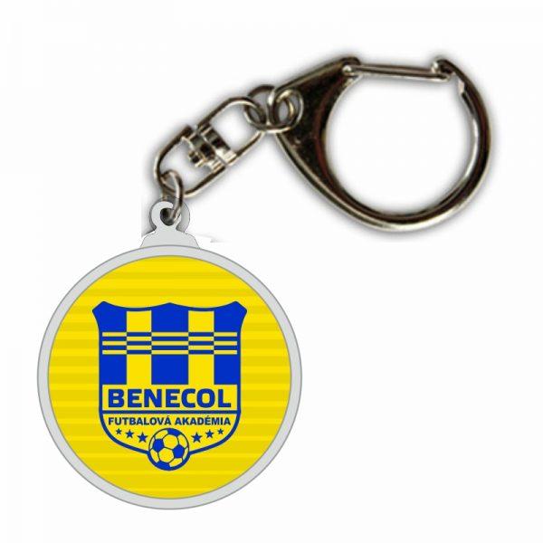 CFT Benecol Košice – kovová kľúčenka