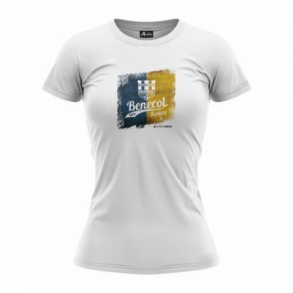 CFT Benecol – Bavlnené dámske tričko s potlačou 2